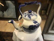 Giant Ironstone Teapot