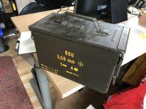 British Army Ammunition Box