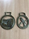 Two Horse brasses