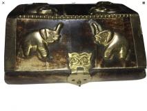 Stunning Brass and Wood Box
