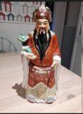 Large Chinese Figure of an Immortal – Fu Loo Shou
