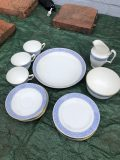 Complete and perfect 1940's Crown Staffordshire Tea set