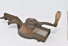 Antique French Acier Iron Cheese Grater